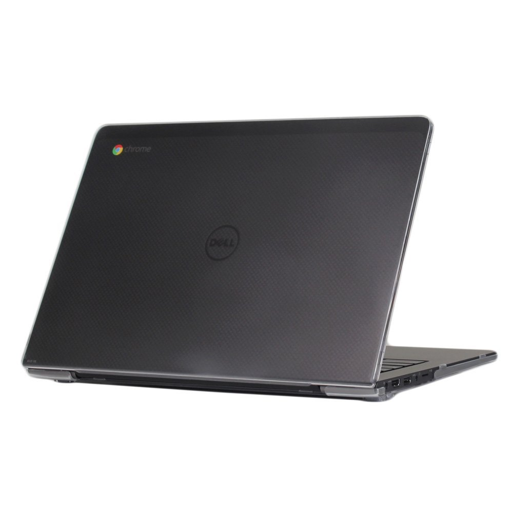 """iPearl mCover Hard Shell Case for 13.3"""" Dell Chromebook 13 7310 series Laptop released after Oct. 2015 (Clear)"""