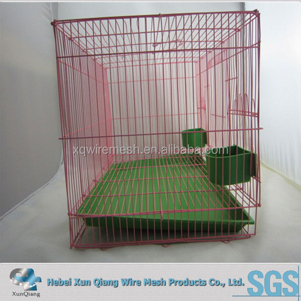 Easy Clean Indoor Wire Rabbit Cage With Tray And Wire Bottom - Buy ...