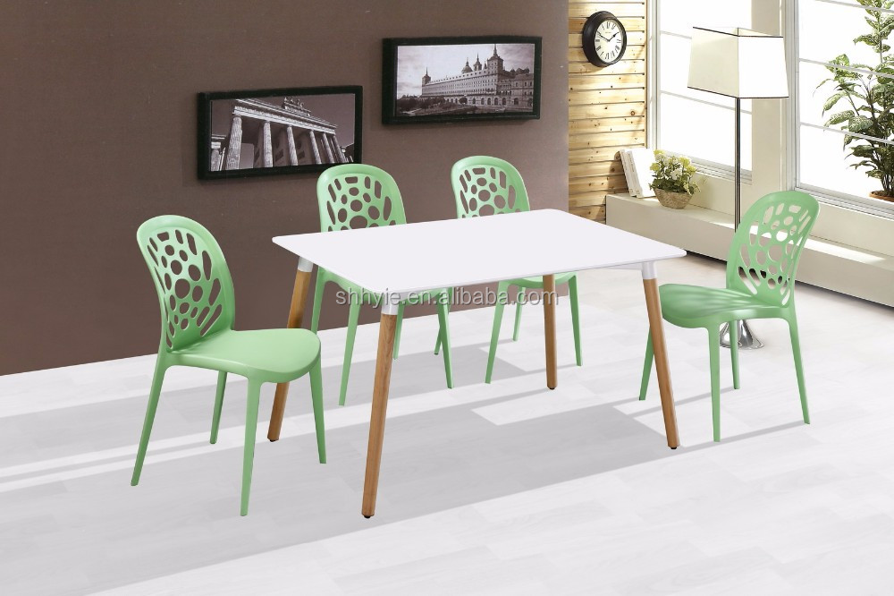 MDF & Oak Legs With Modern concise Dining Table