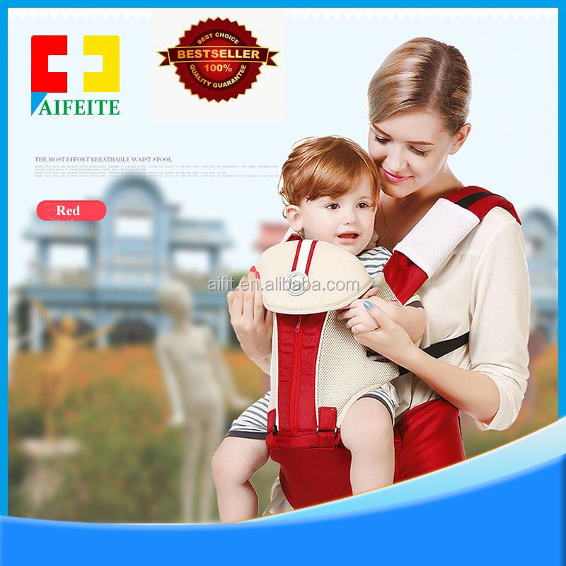wholesale china OEM available multifunctional canvas organic cotton baby carrier with cap