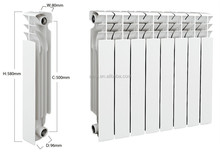 New design die casting bimetal radiator for home heating Bimetallic aluminium radiator