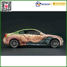 De china al por mayor de racing decals car sticker/car body stickers/pvc car sticker diseño