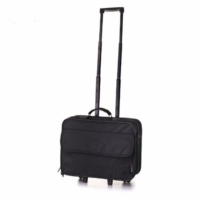 Carry-on laptop black business bag lightweight best brand trolley bag