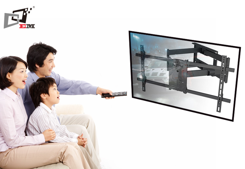 Top Selling Full Motion TV Mount With 910mm Extension Arm