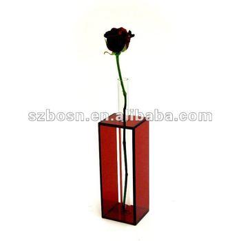 Acrylic Vase Acrylic Flower Holder Acrylic Display Stand Buy