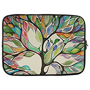 "Grrl Tree of Life 15 15.4"" 15.6"" Inch Laptop Sleeve Bag for Dell Inspiron, Vostro, Samsung, ASUS UL30, Toshiba Notebook"