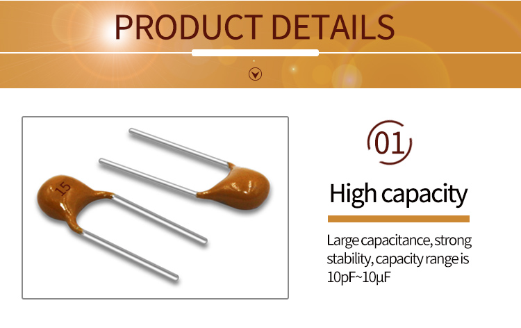 multilayer ceramic capacitor 50V