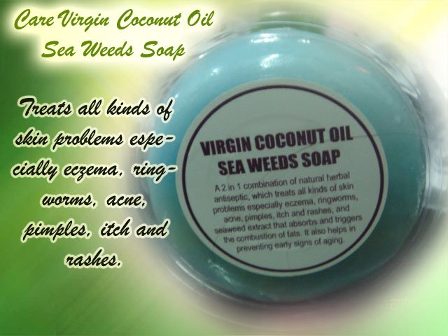 Virgin Coconut Oil Seaweed Soap - Buy Soap Product on Alibaba com