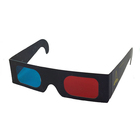 Cheaper Paper 3D Glasses 3d virtual video View Anaglyph Red Cyan Red/Green 3d Glass