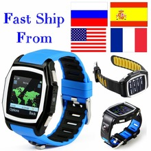 GPS Tracker T6 heart rate monitor watches phone casual digital sim bluetooth wear watch for apple sport smart watch android