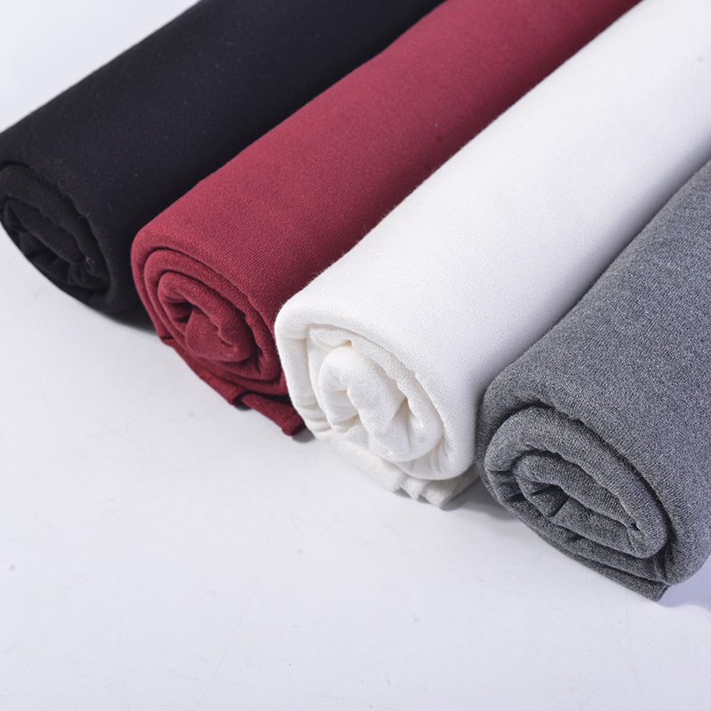 Summer T-shirt apparel fabric terry style 100% modal fabric