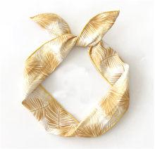 Женские повязки для волос в богемном стиле, Летние повязки на голову с принтом в стиле ретро, банданы с узлом-тюрбаном, женские аксессуары дл...(Китай)