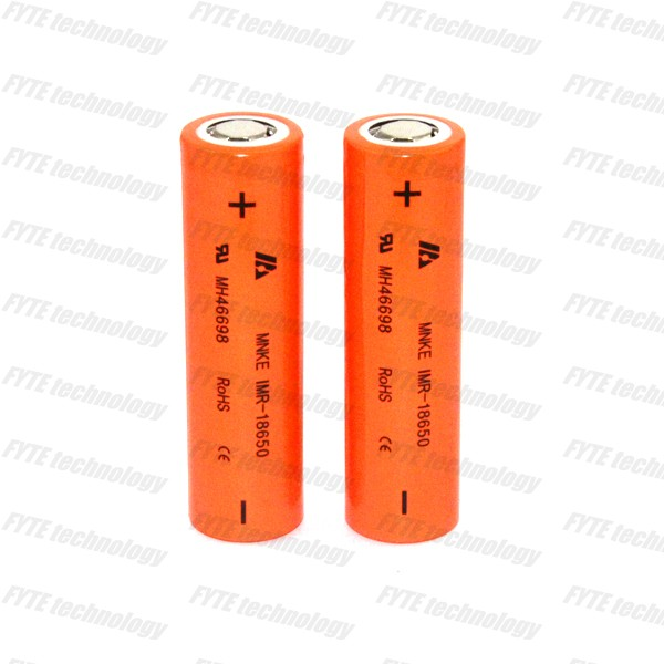 High drain 30A 18650 battery mnke 18650 battery 1500mAh 3.7V rechargeable li-ion battery