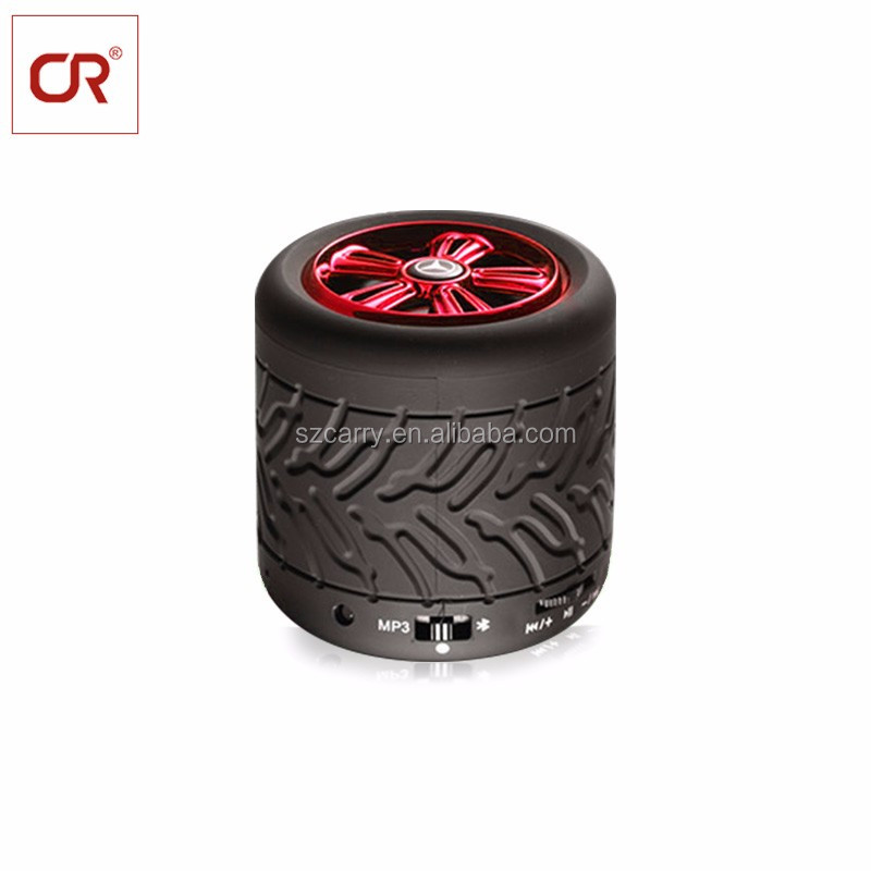 Professional Car Subwoofer Audio Wireless Portable Ble Stereo Speaker With Fm Hands-Free