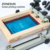ZONESUN 24*30cm Silk Screen Printer SMT Solder Paste Silk Screen Printing Machine For Metal Plastic Wood