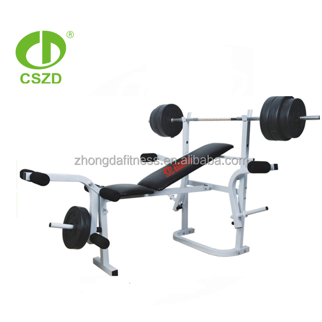 total sports america weider club 500 fitness weight bench with height adjustable