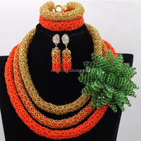 Popular african fashion jewelry sets indian bridal jewelry sets online for lady