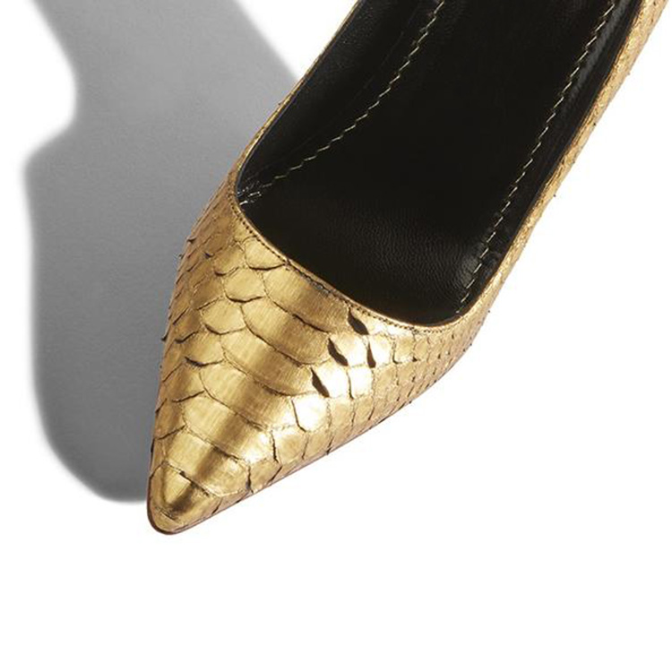 pointed leather toe Wholesale high ladies heel snake shoes fashion 1ZFpnqwg