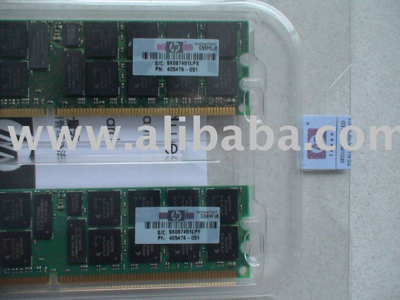 408854-B21 8GB PC2 5300 DDR2 DIMM Registered 2X4GB for HP Server memory