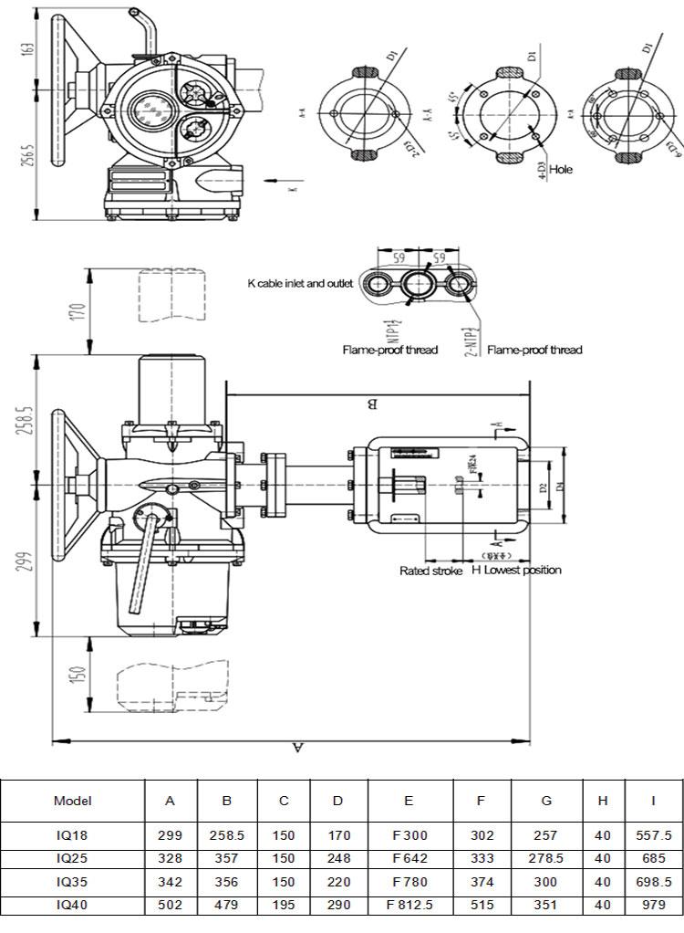 Rotork Electric Valve Actuator Rotork Actuator Manuals Waterproof Electric  Valve Actuator Im70 - Buy Rotork Actuator Manuals,Waterproof Electric Valve