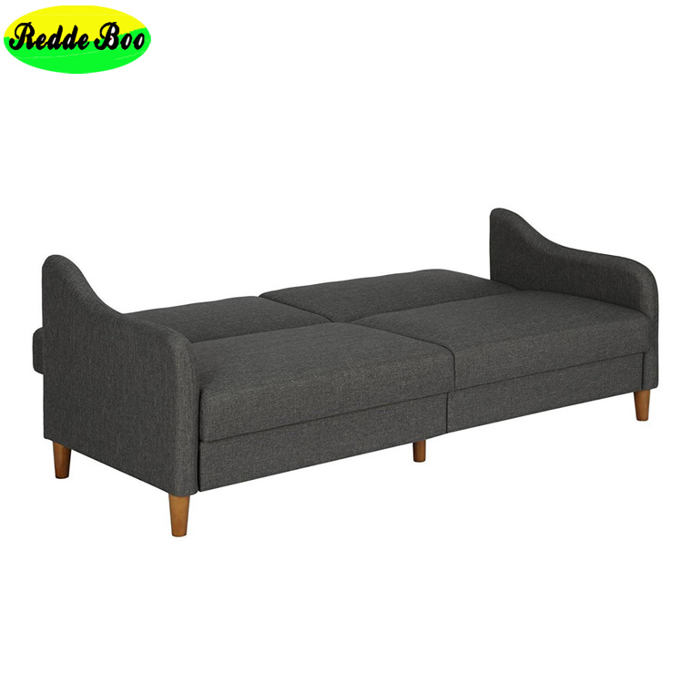 Wholesale Cheap Japanese Linen Fabric Cover Futon Sofa Bed For Small