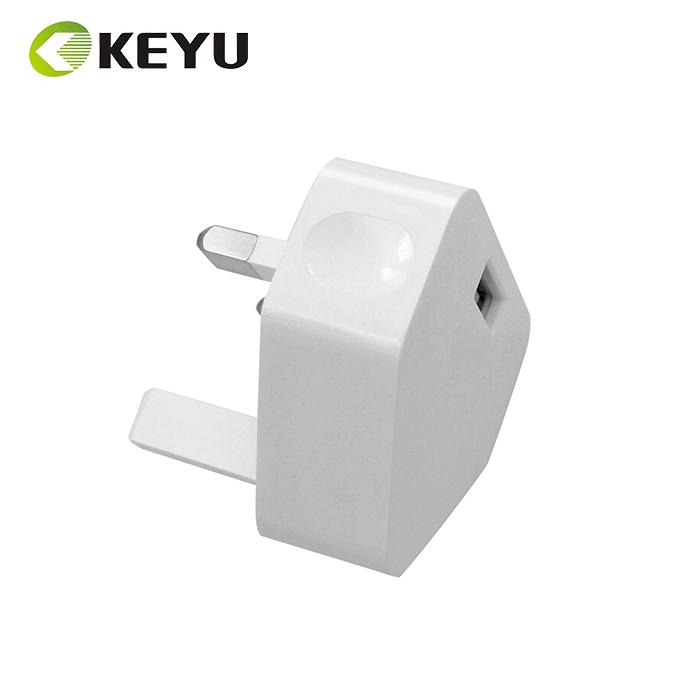 5V 1A Usb Dinding Charger UK Adaptor UK Plug Home Travel Charger 3 Pin Plug Adaptor Daya USB
