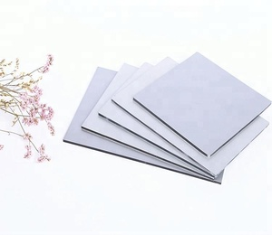 Silver Color 4mm Thickness Waterproof Aluminium Wall Cladding