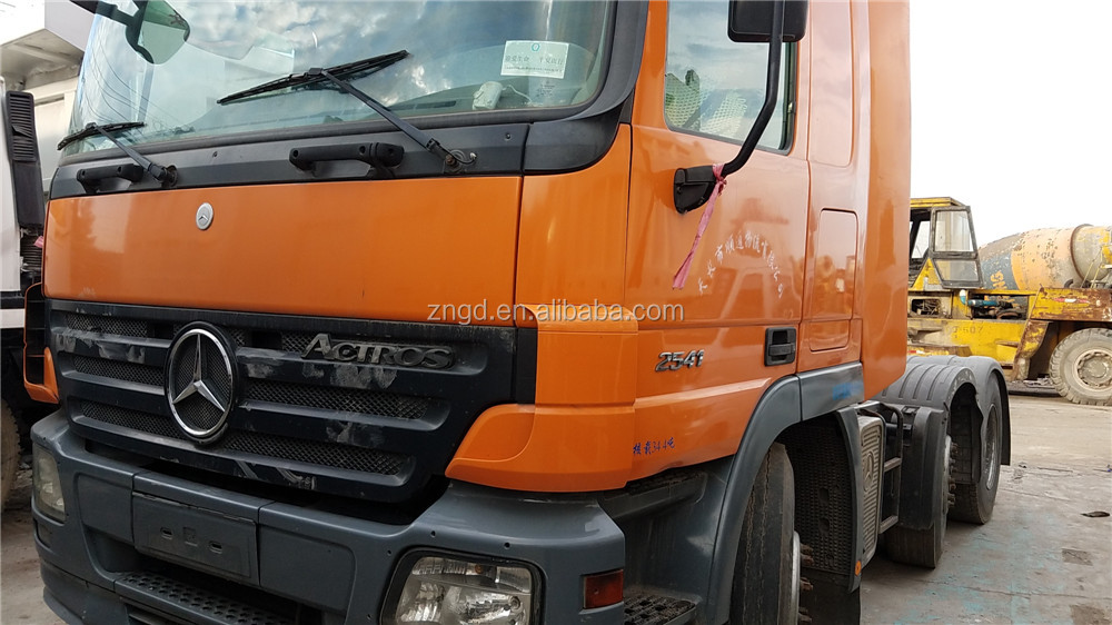 Left-hand Driver Japan Original FM12 FH12 Used Volvo Truck Head Ben Actros 2541 model