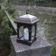 Waterdichte Wind Lamp Opknoping Outdoor Tuin LED Solar Candle Light