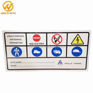 Safety Signs Aluminum Lockout Industrial Tags Warning Signs