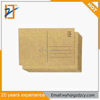 Best Selling Chinese Style Brown Kraft Paper Vintage Blank Postcard For Promotion