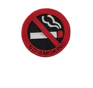 Promotional no smoking fridge magnet sticker