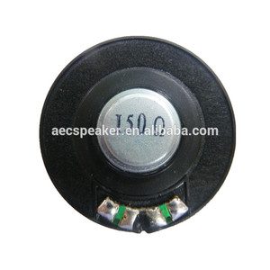 Best Selling Small Round 150ohm 40MM Headphone 0.1W Speaker