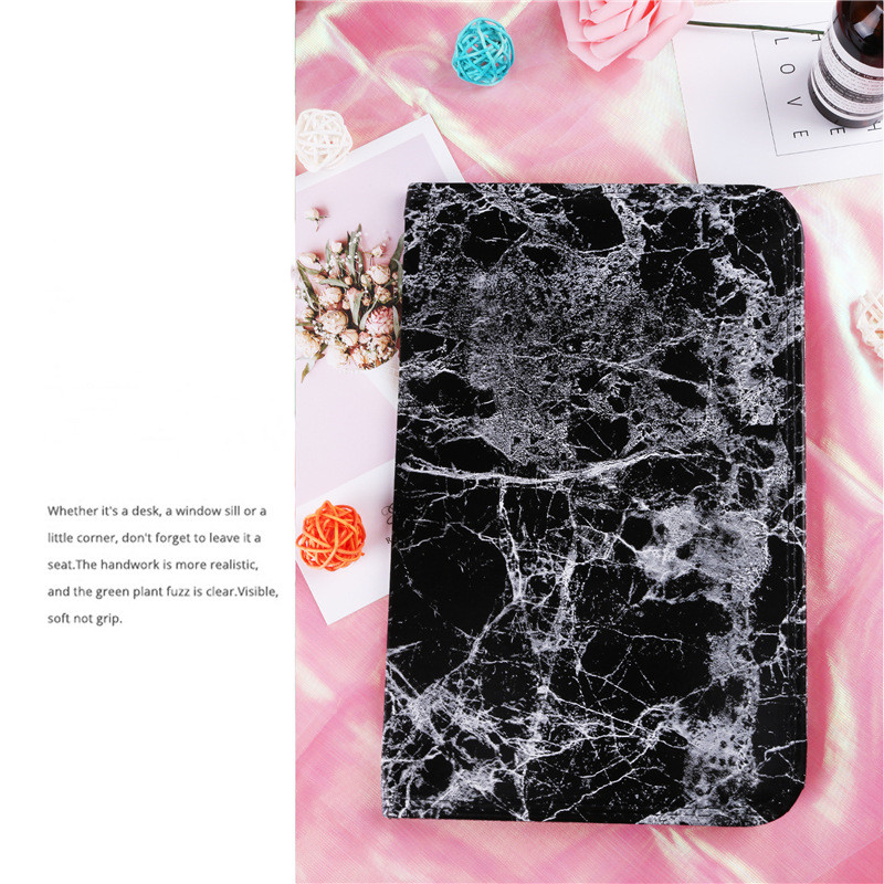 Hot Selling  Ins Style Blooming Marble Leather Nail Pillow Set for Nail Art