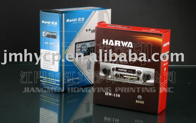 mp3 /mp4/mp5 player packing boxes