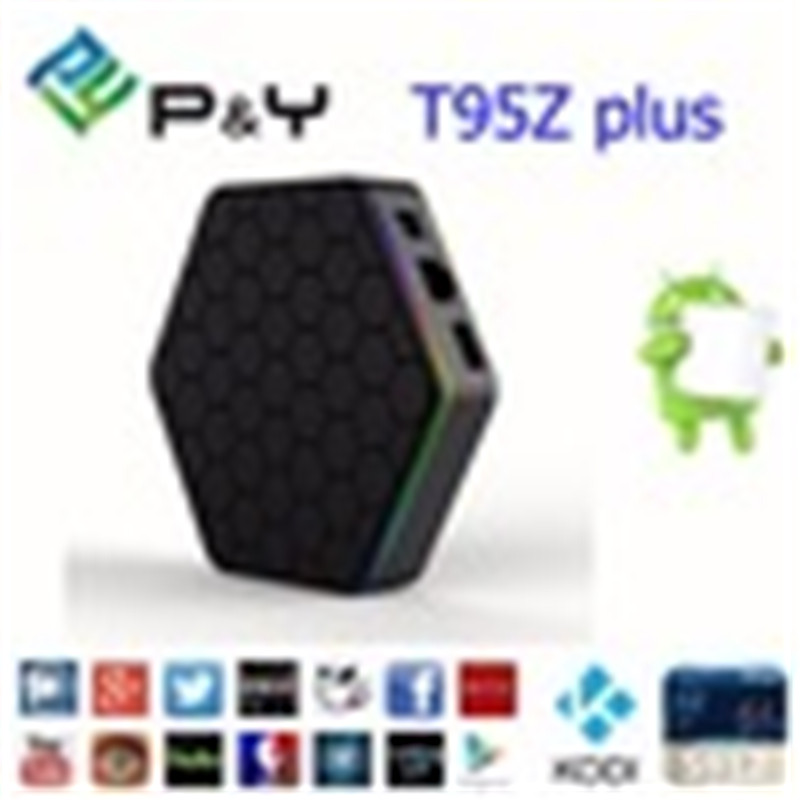 2016 Best android tv <strong>box</strong> S912 2G 16G fully loaded kodi 17.0 Octa core Pendoo T95Z S912 ott wholesale smart android <strong>set</strong> top <strong>box</strong>