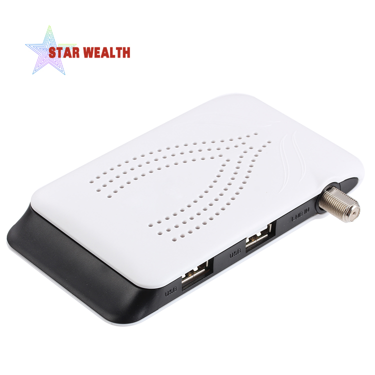 Stock 500pcs dvb s2 international android tv box mini digital <strong>satellite</strong> tv receiver with cccam