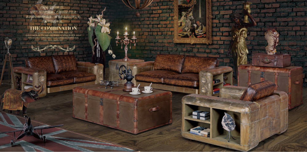 single seater retro vintage leather sofa armchair buy vintage leather sofa armchair vintage. Black Bedroom Furniture Sets. Home Design Ideas