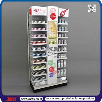 Tsd-m942 Custom Metal Opi Nail Polish Display Rack,Makeup Display ...