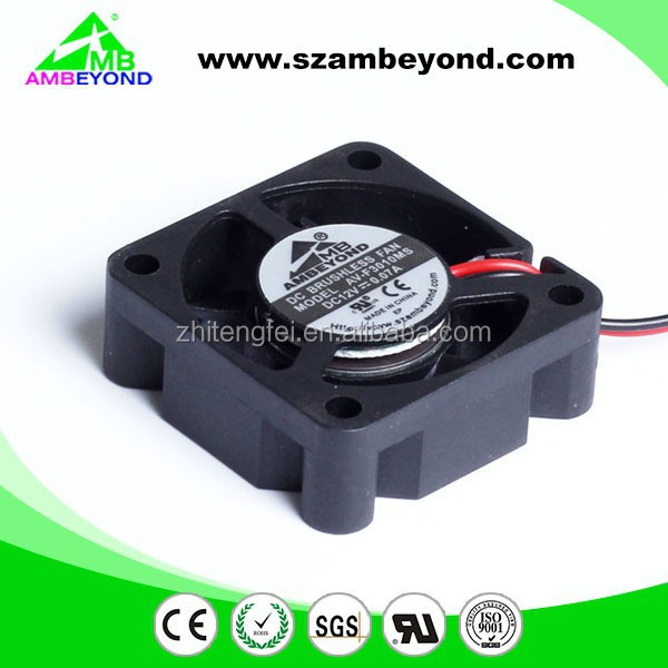 AMBEYOND Fan mini fan low voltage 3.5V 5V 30mm dc cooling fan 30x30x10