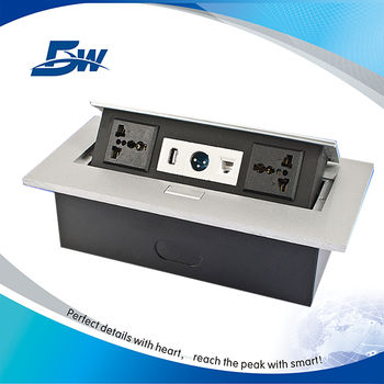 Eu Conference Table Pop Up Electric Switch Boxtable Power Socket - Conference table power box