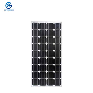 China factory 18v mono 100 watt battery solar panel for solar power system home panel