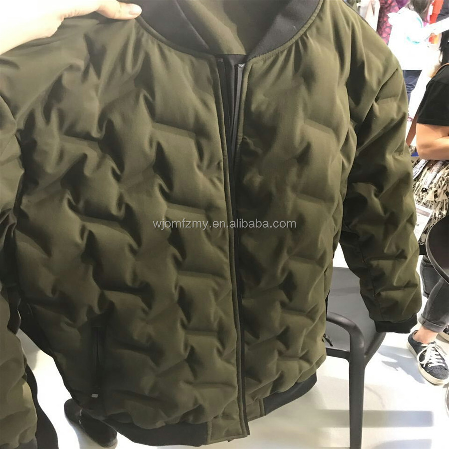 Straight filling eiderdown two layer Waterproof polyester pongee Bonding FABRIC for down jacket,padded jacket,sportswear