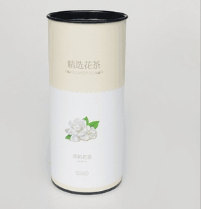 E juiceand tea paper tube packing drinking dome tin lid packaging boxes