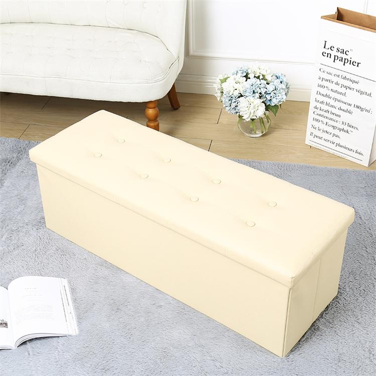 Increíble Cuero Copetuda Cuadrados Muebles Otomana Friso - Muebles ...