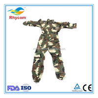 How much China Disposable Nonwoven camouflage protective clothing by suppliers