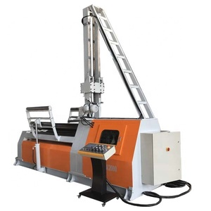 2019 good sales CNC four rolls plate rolling machine