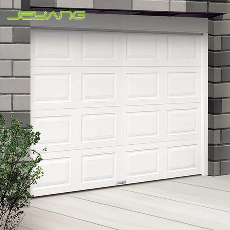Professional manufacturers custom steel size cheap industrial sectional garage door