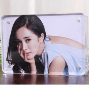 Sexy acrylic magnetic photo frame 5*7 picture frame picture available