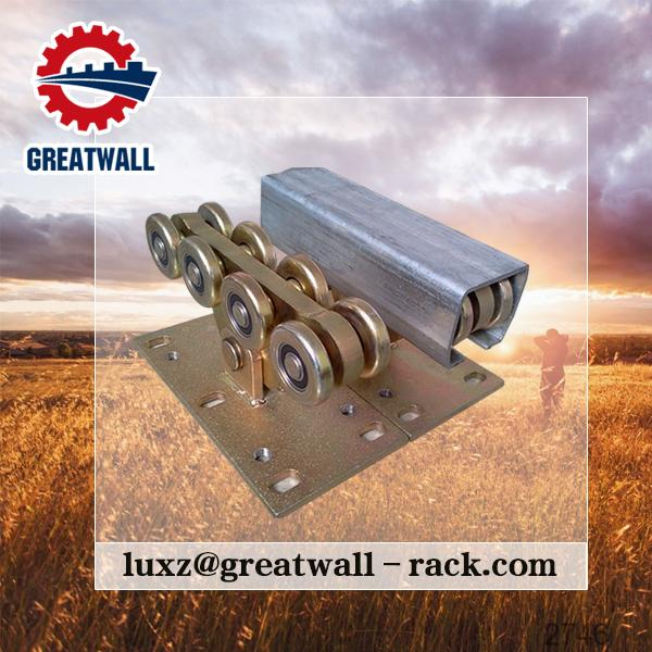 Greatwall V- belt type wheel single wheel sliding door hanging pulley for wire guide bearing roller